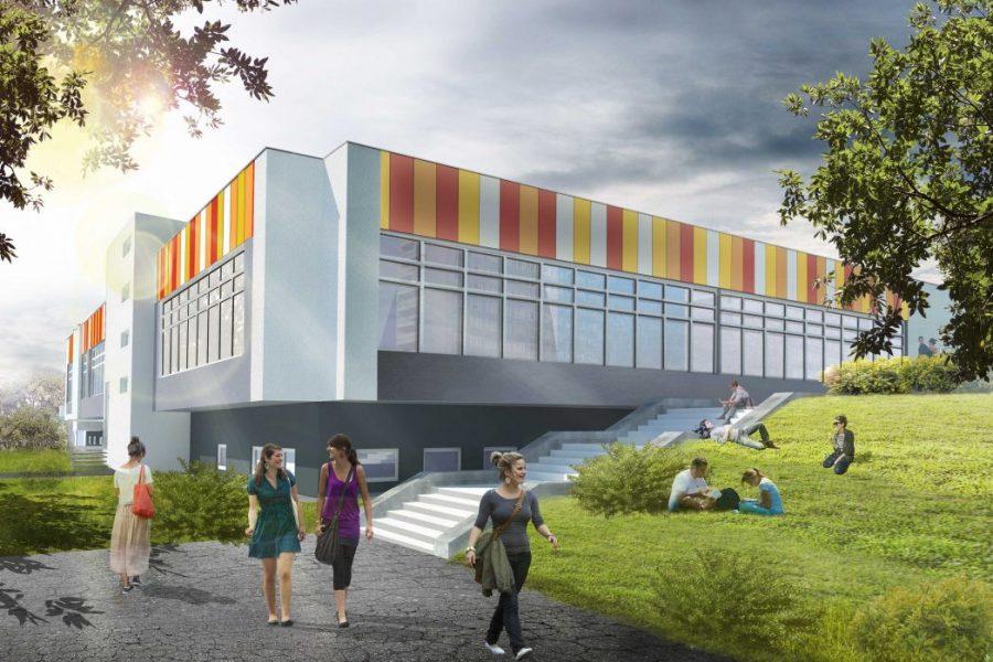 Jagiellonian University CM Student Accomodation Complex, Kraków