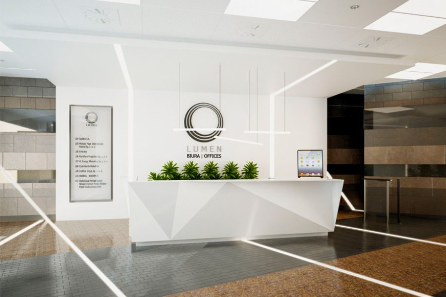Lumen Building Office Reception, Warszawa