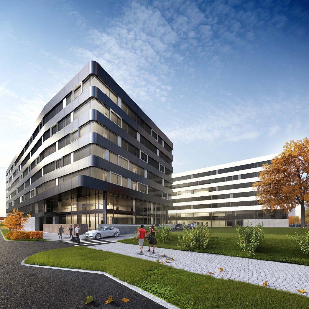 Office Complex, Romanowicza Str., Kraków