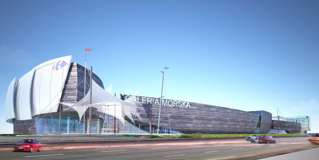 Galeria Morska, Carrefour, Gdynia