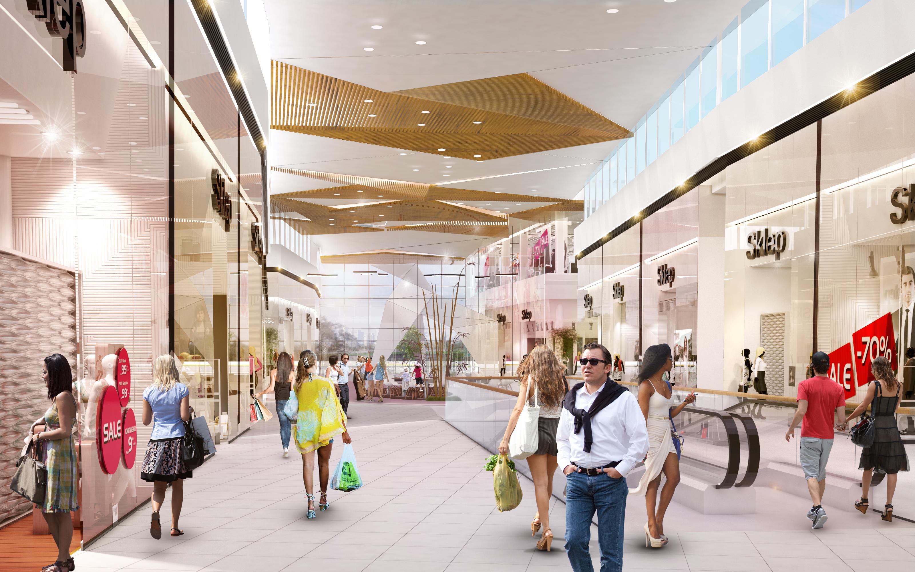 Janki Shopping Center – expansion, Janki k. Warszawy