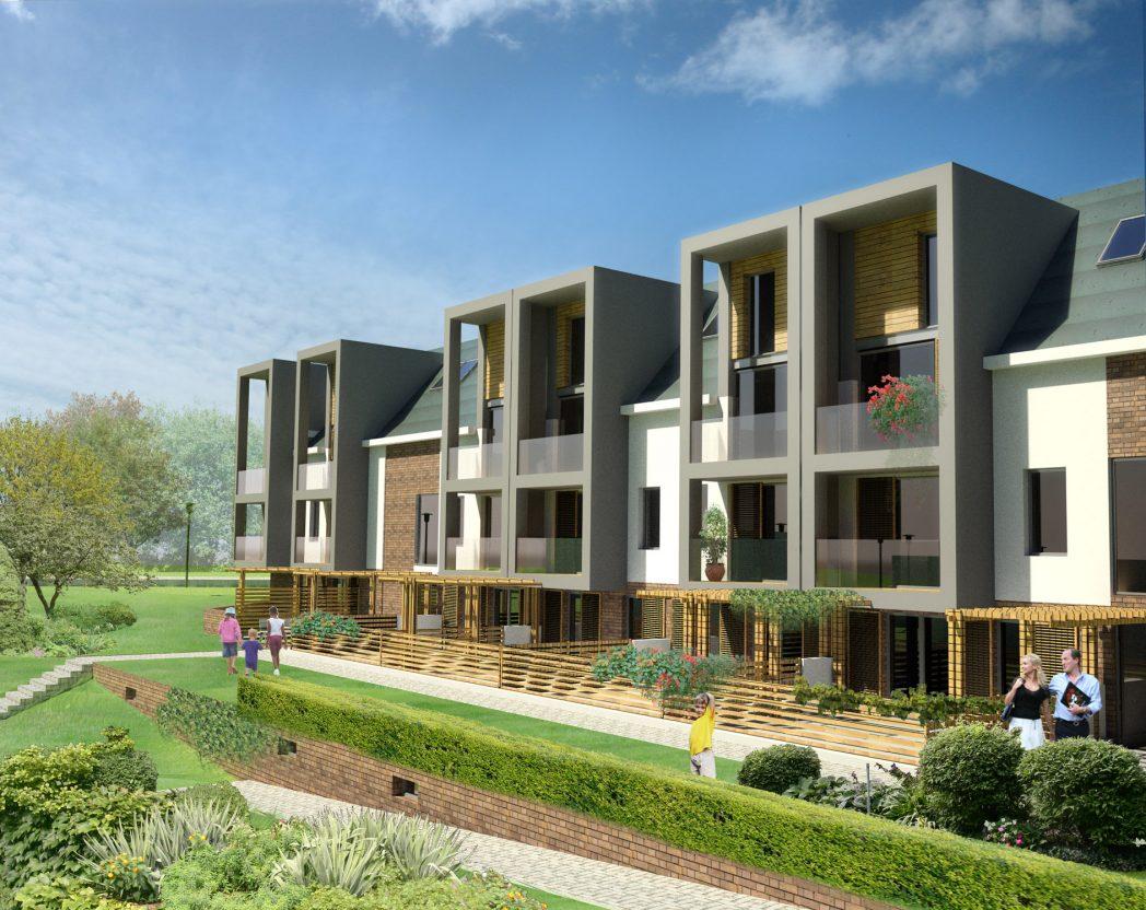 "One-family Housing Complex ""Zakątek Bogucicki"", Katowice"