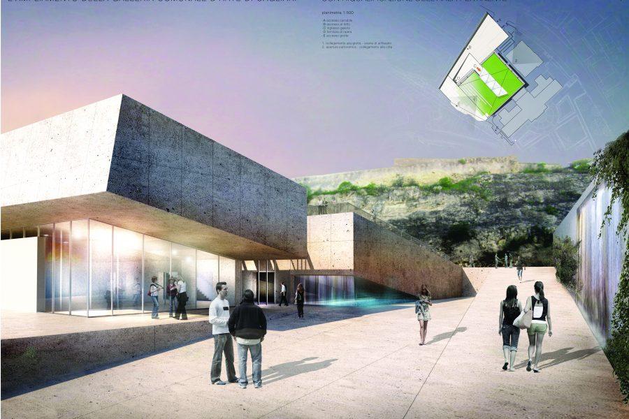 Museum of Modern Art, Cagliari, Italy