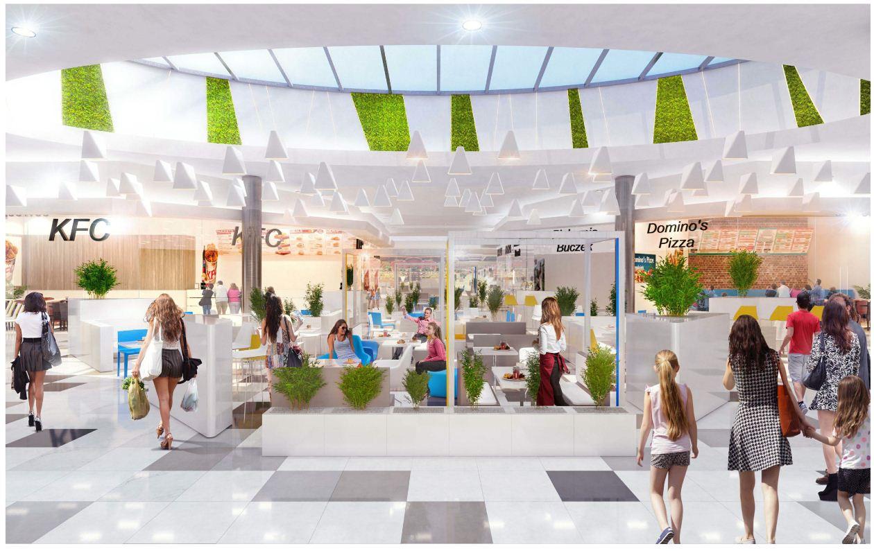 Czyżyny Shopping Center – modernisation, Kraków
