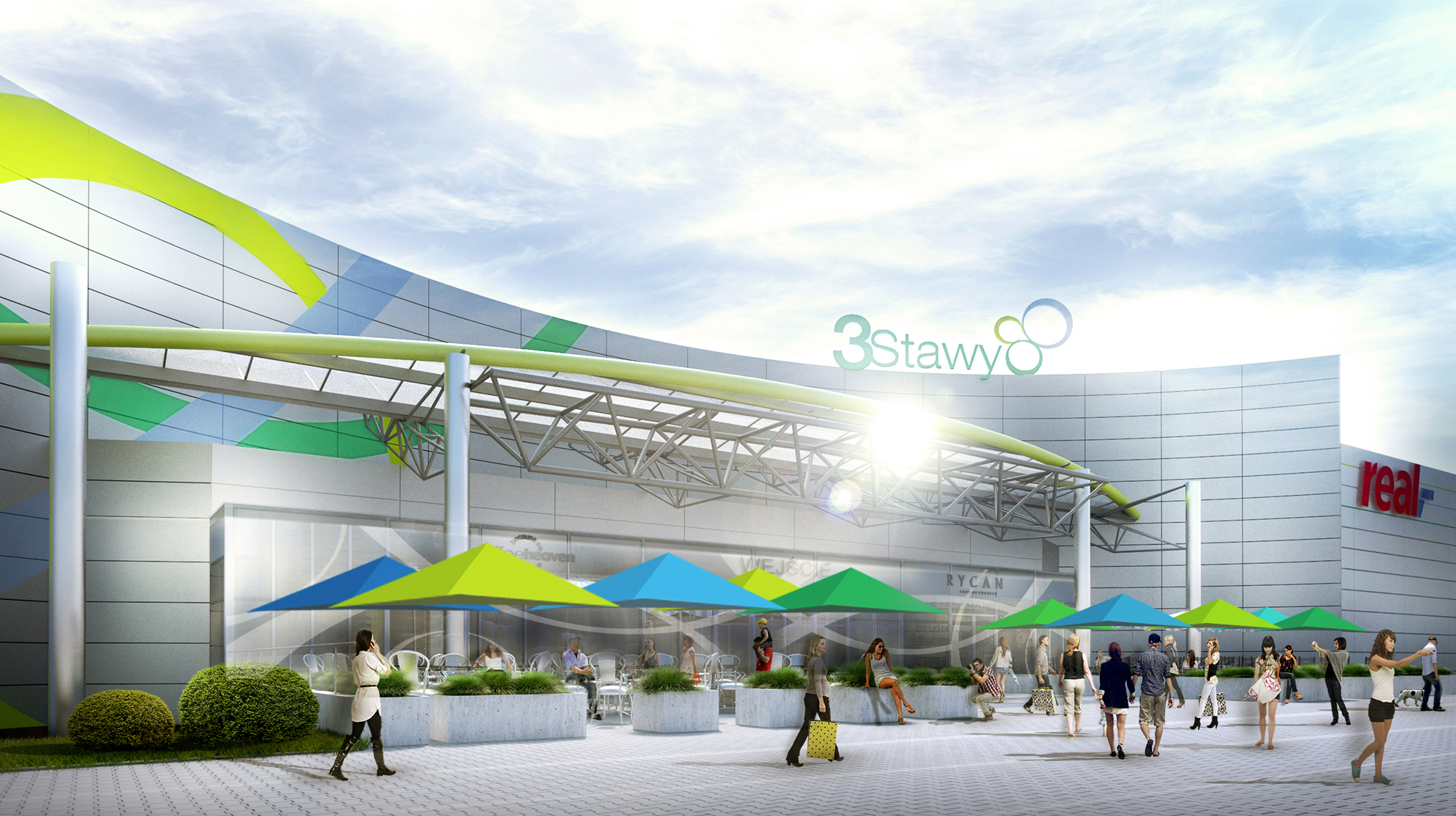 3 Stawy – modernisation & refurbishment, Katowice