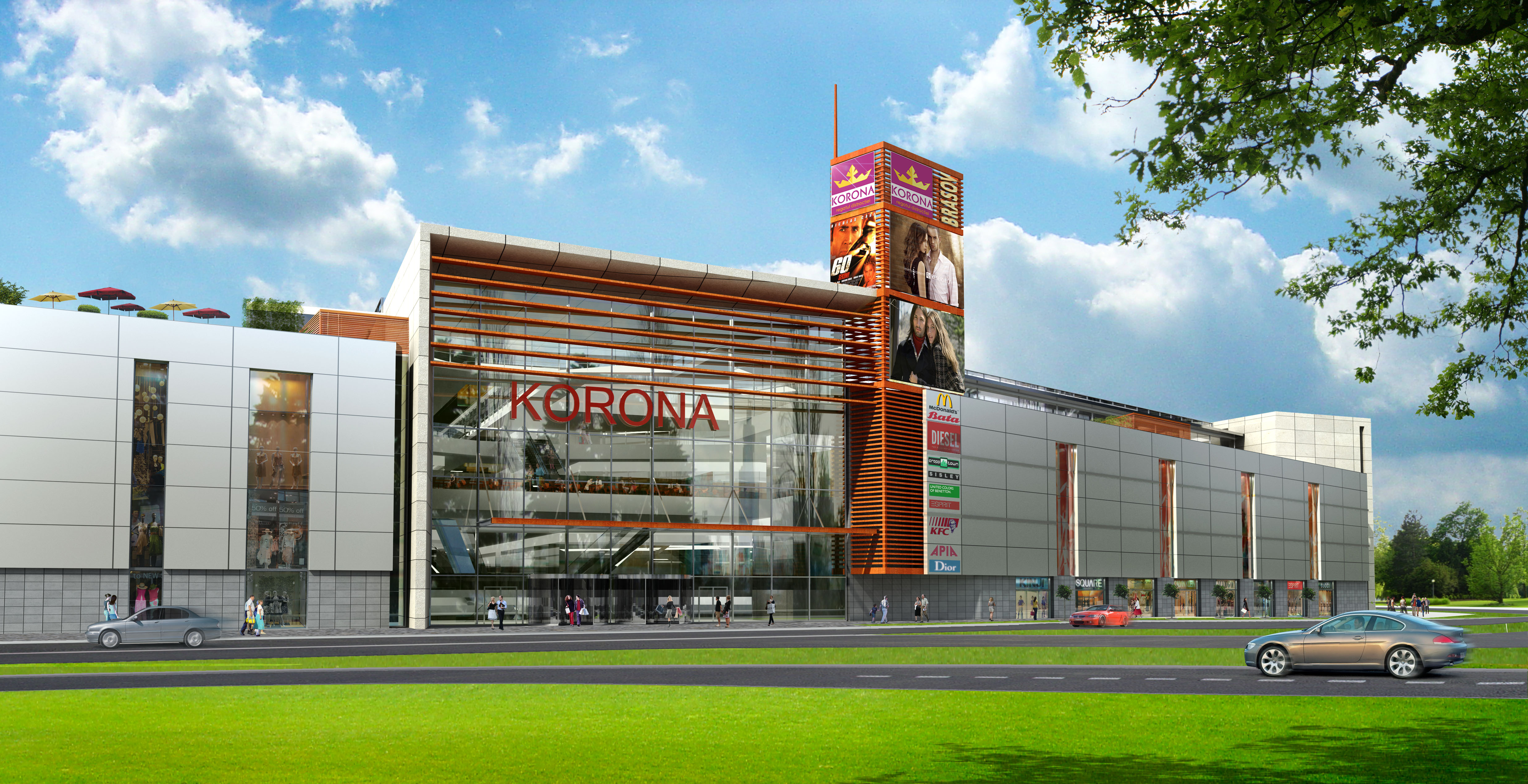 Korona Shopping Center, Brasov, Romania